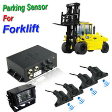 12V~24V Aftermarket Beeper Video car parking sensor for Forklift truck