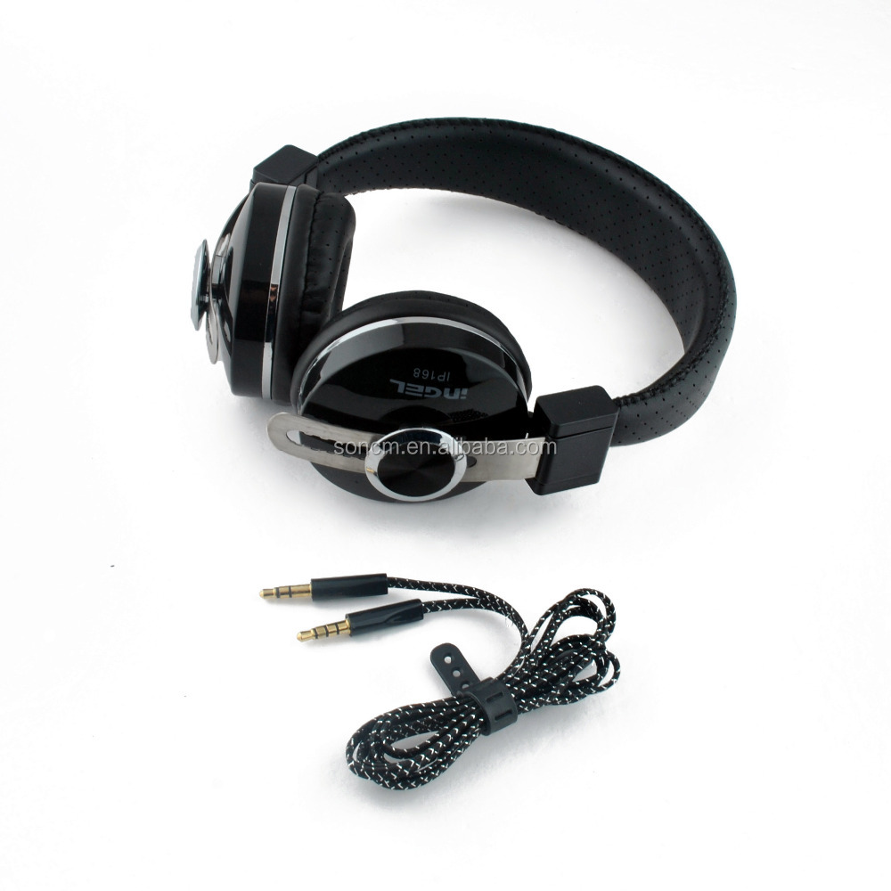 Foldable professional stereo headphone ,cheap high quality headphones