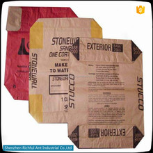High Quality Cement Paper Bags, Adhesive Wall Tiles Raw Material Paper Bag