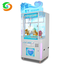 Manufacturer hottest luxurious cut for love toy claw crane gift vending arcade game machine