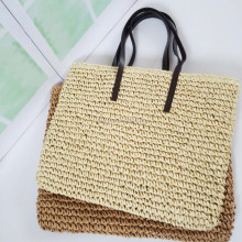 Professional Women's Straw Shoulder Bag For Sales