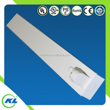 4ft 1200mm 18w T8 Hanging Led Fluorescent Single Tube Light Fixtures Led Lamp Holder T8
