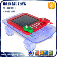 DIY assembling science car solar toy car