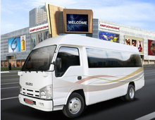 Isuzu Urban city bus 10 seats for diesel engine