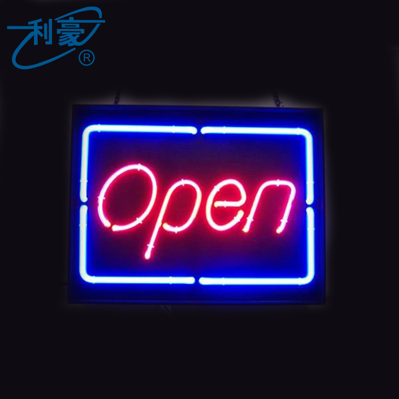 LH outdoor 3d neon open <strong>sign</strong> sale for China supplier