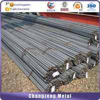 Supply black prime rolled standard mild rebar steel prices by china factory