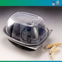 Plastic Fried Chicken Box For Microwave Oven