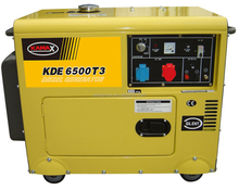 6kva diesel generator set with CE and ISO9001 certificate