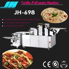 JH-698 Automatic Mexican Tortilla Maker Production Lines Food Making Machine