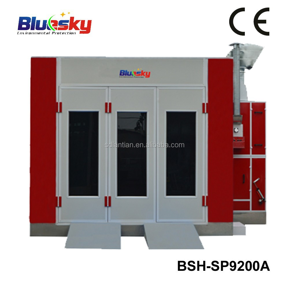 good quality China supplier CE auto spray booth/car baking room/paint curing booth