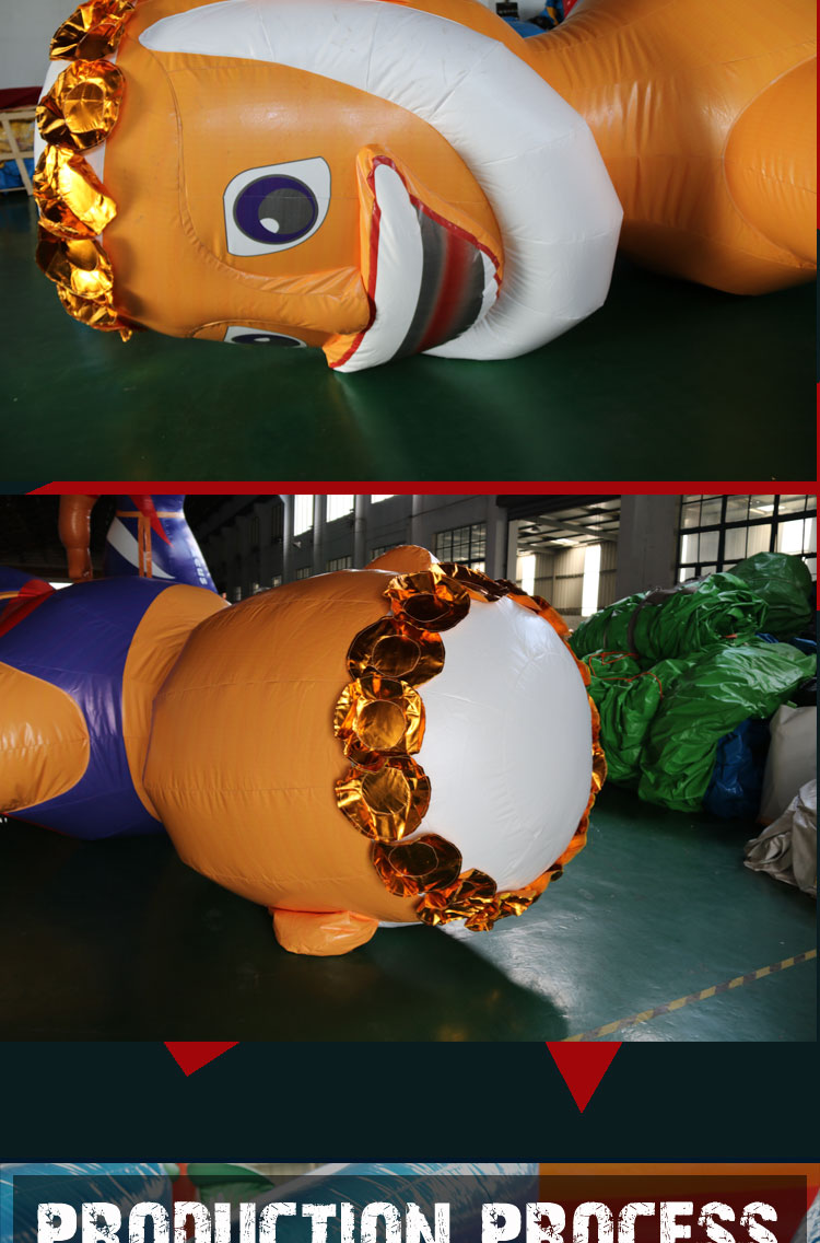 giant inflatable cartoon characters model