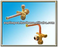 Service Valves for Split Airconditioner