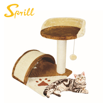 SPRILL Eco-friendly sisal cat tree cats scratch post