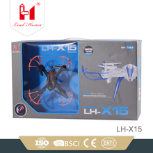 hot selling drone hd camera 2.4G 4ch rc heli with 6-axis gyro