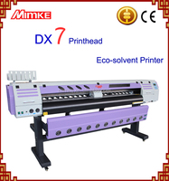 Inkjet plotters with Dx7 print head M-165D for outdoor display with eco solven ink