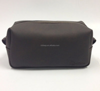 Factory wholesale PU leather men cosmetic bag