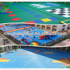 Environment Children Playground Flooring Liquid Kindergarten