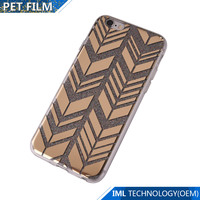 double coated cell case for mobile phone