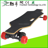 Cheap price electric skateboard outdoor mini gas motorcycles 125mm pu wheel kick scooter