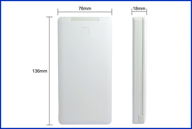 Hot new products for 2015 mobile charger built in cable power bank 10000mah