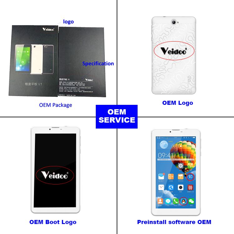 OEM China manufacturer Cheap 3G Tablet Dual Sim Card Android 7 Inch Phablet Tablet Pc