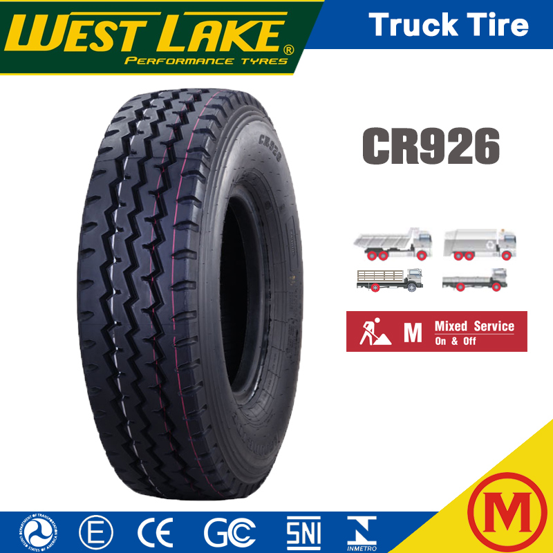Westlake Goodride Chaoyang brand CR926 tube tubeless Heavy Duty Tyre Trailer Radial Truck Tire