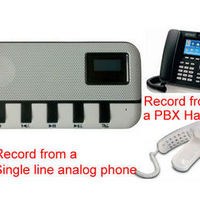 Cheap Telephone Recording Box Phone Voice