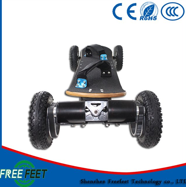 China Supplier Bamboo with fiber glass Material e board electric skateboard 2000w boosted dual