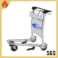 three wheels passenger airport service trolley