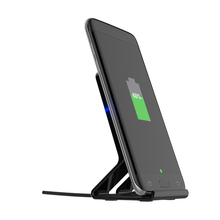 5W Intelligent Portable mobile phone wireless charger fast charging wireless charger stand