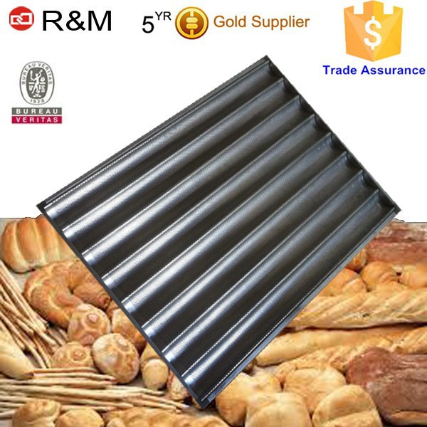 French bread baking tray/baguette pan/perforated baking tray