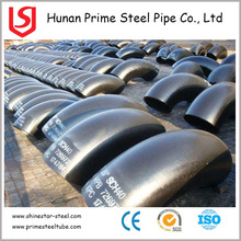 ASTM A234 ms pipe elbows fittings price per ton with customized dimensions