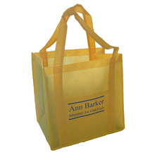 Full color non woven shopping bag
