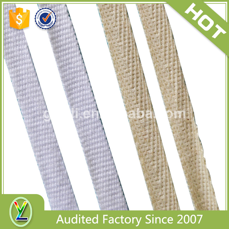 Top grade garment accessories soft braided cotton band