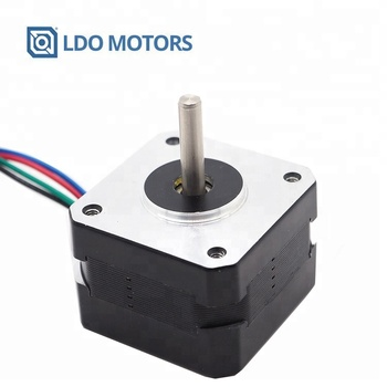42x42mm two phase stepper motor with detachable leads