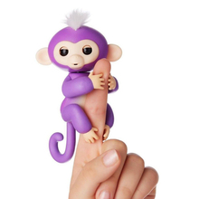 Interactive Baby Monkey, Little Baby Fingerlings Pet Electronic Monkey Children Kids new Toy