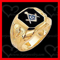 fashion jewelry gold masonic ring, wholesale masonic items, free mason ring