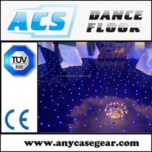 Innovative stage design to the dance floor interactive led