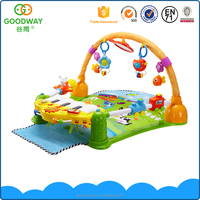 Baby activity sleep mat kids piano gym toys with hanging toy