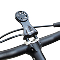 GUB 693 Carbon Fiber Bike Computer Stem Mount, Bicycle Computer Camera Holder for Garmin Cateye Bryton Computer Gopro Camera