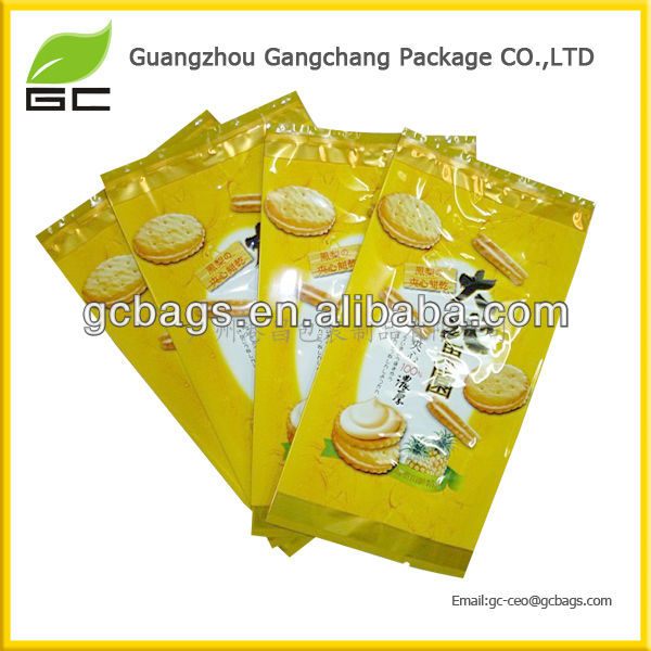 2016 new triangle shaped plastic bags for food packing