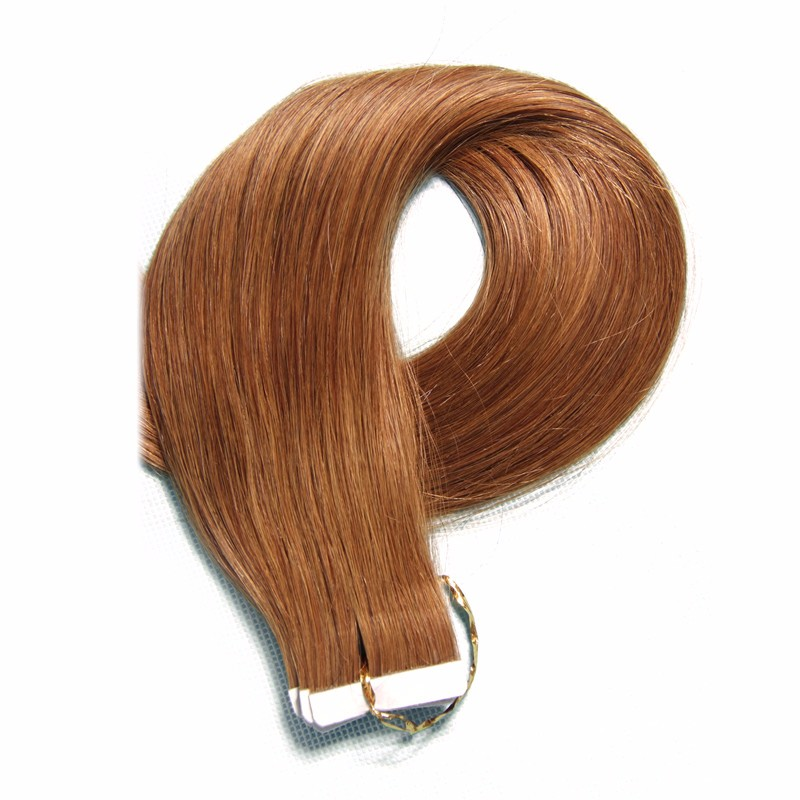 Machine Made Grey Human Hair Weaving Virgin Indian Hair Extension Wholesale Indian Remy Tape Hair Extensions
