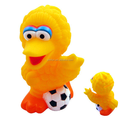 custom make vinyl piggy banks for kids,customized Sesame Street Big Bird Coin Piggy Money Bank