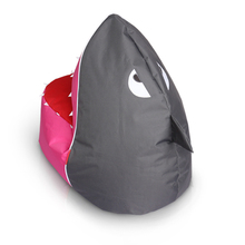 Mengzan Shark shaped baby indoor and outdoor bean bag