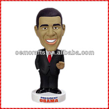 High quality resin famous people custom bobble head