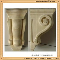 wooden carving corbel,furniture corbel