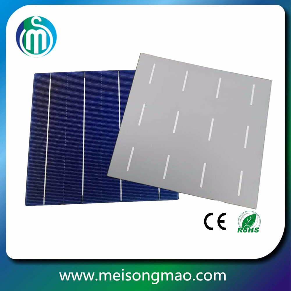 Wholesale poly crystalline silicon solar cell 156x156 solar cell price