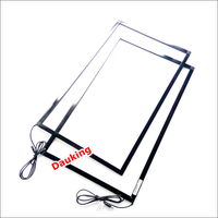 "42"" real 6/10 Points Multitouch USB Infrared IR Touch Screen Frame/Panel for advertising kiosk, touch table,smart TV"