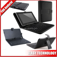 USB Leather Tablet Keyboard Case For 7 8 9 10 inch cheap tablet pc keyboard
