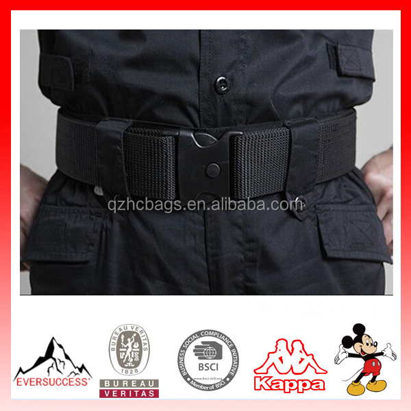 New Adjustable Military Fastener Dual-Safety Waistband Strap Tactical Waist Belt